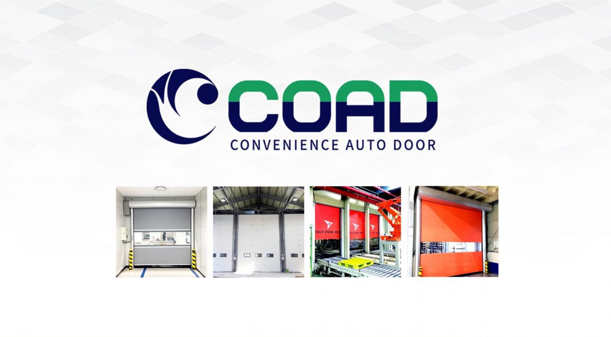COAD HIGH SPEED DOOR, RAPID DOOR, INDUSTRIAL DOOR